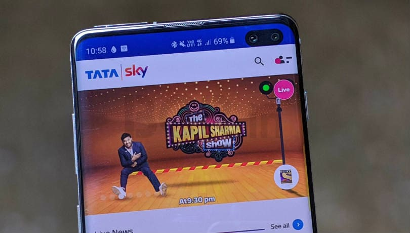 Tata Sky Mobile app gets restart and Google voice search feature in latest update