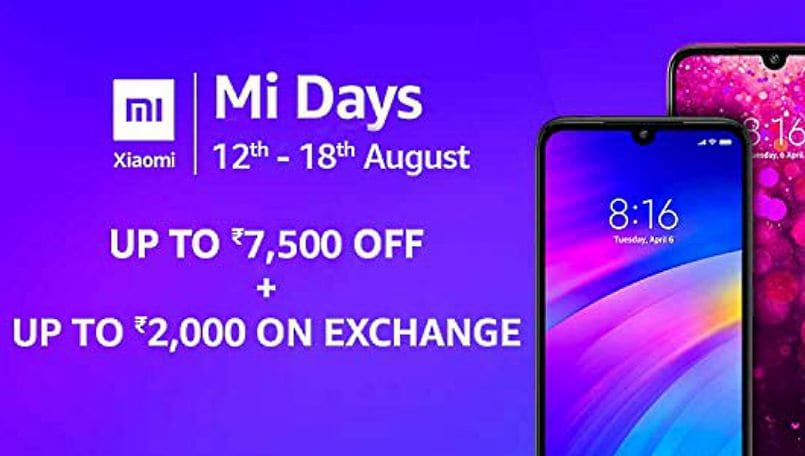 Xiaomi Mi Days sale on Amazon India: Top offers and discounts