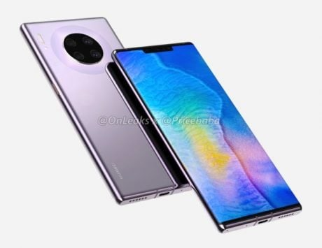 Huawei Mate 30 Pro may feature waterfall screen design