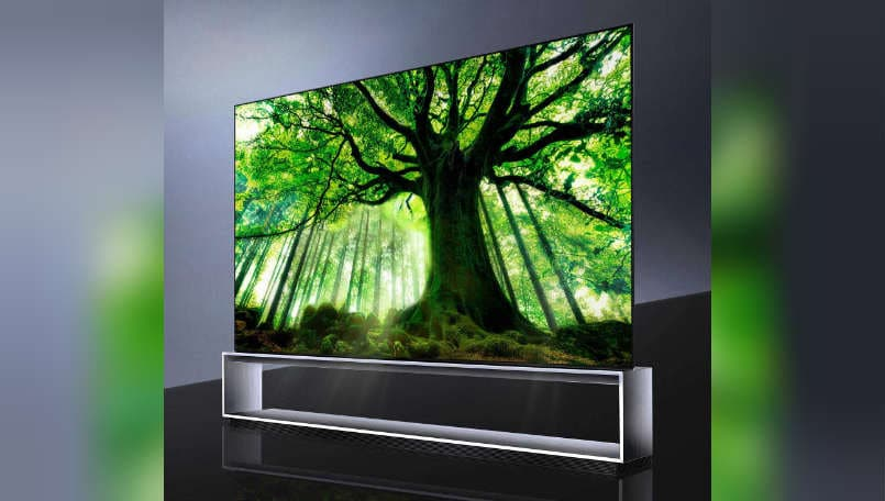 LG set to release its 88-inch 8K OLED TV in global markets