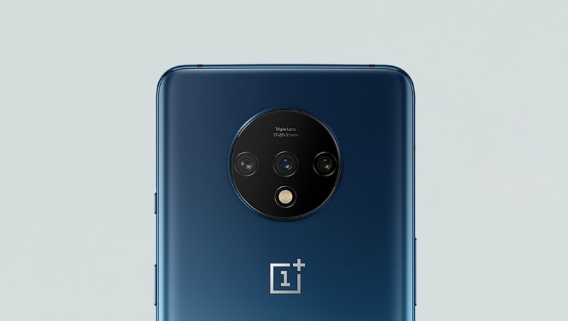 OnePlus 7T official renders confirm triple rear camera setup with circular camera bump