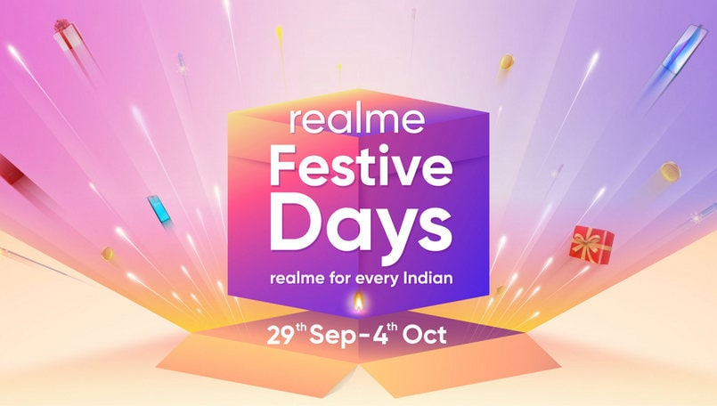 Realme Festive Days sale to start from September 29; Diwali offers, details teased
