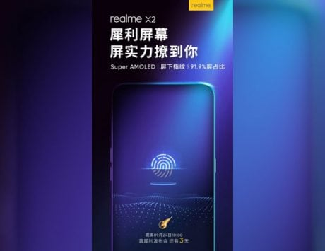 Realme X2 to feature Super AMOLED screen; details
