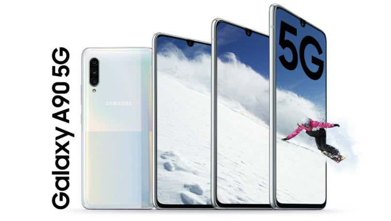 Samsung Galaxy A90 5G gets Android 10-based One UI 2.0 stable update