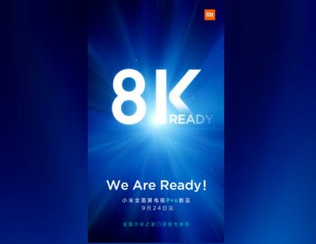Xiaomi 8K Mi TV to launch on September 24; alleged photos leaked online