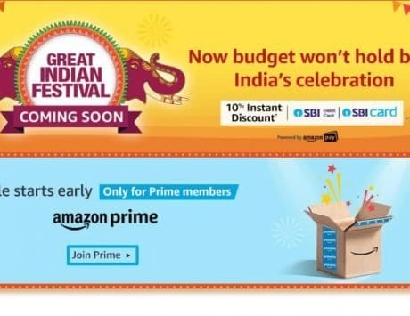 Amazon Great Indian Festival announced