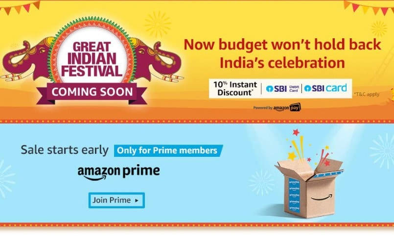 Amazon Great Indian Festival coming soon: What to expect this year