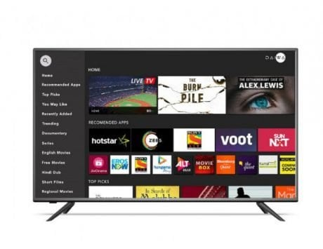 Daiwa 49-inch smart TV with Big Wall UI launched at Rs 26,990