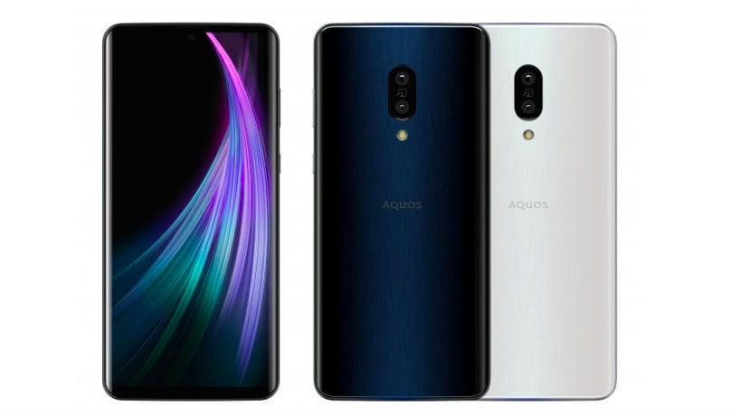 Sharp Aquos Zero2 with 240Hz refresh rate, Android 10; Sense 3, Sense 3 Plus announced
