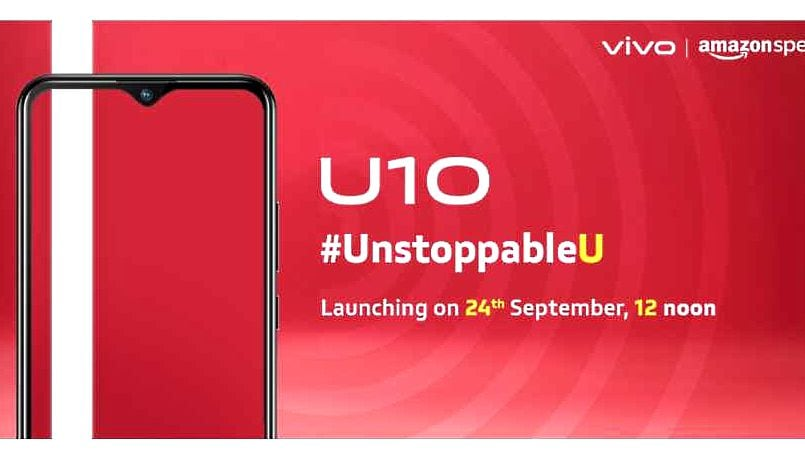 Vivo U10 to launch in India today: How to watch live stream, expected price in India, specifications, and more