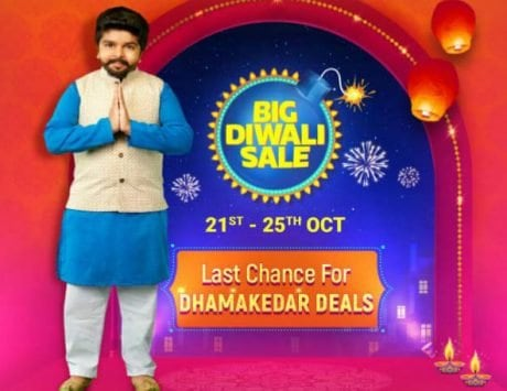Flipkart Big Diwali Sale starts October 21: Top deals