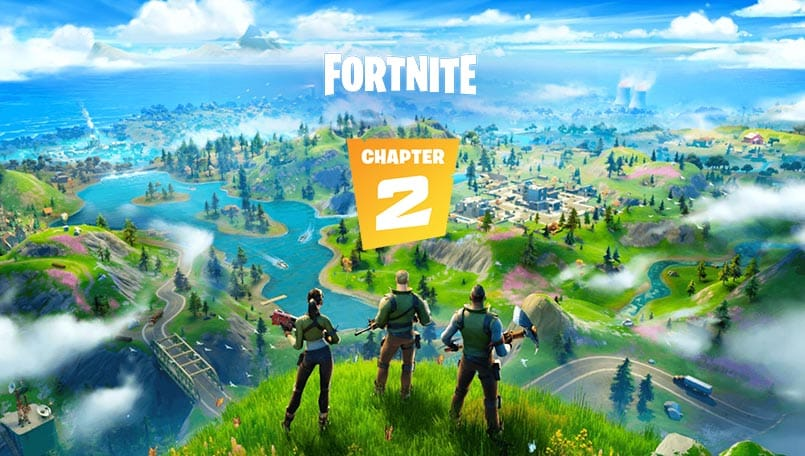 Fortnite Chapter 2 is here with a new map and features