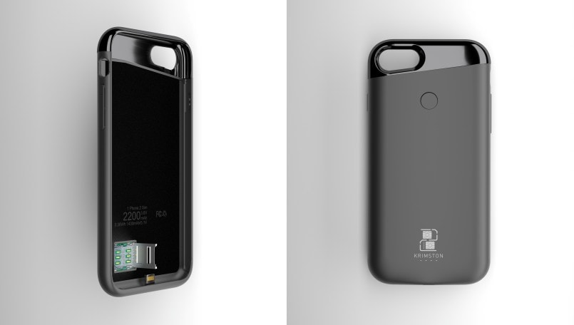 This case will turn your iPhone into a dual-SIM smartphone