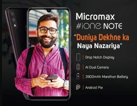 Micromax iOne Note to launch with dual rear cameras, 6-inch display