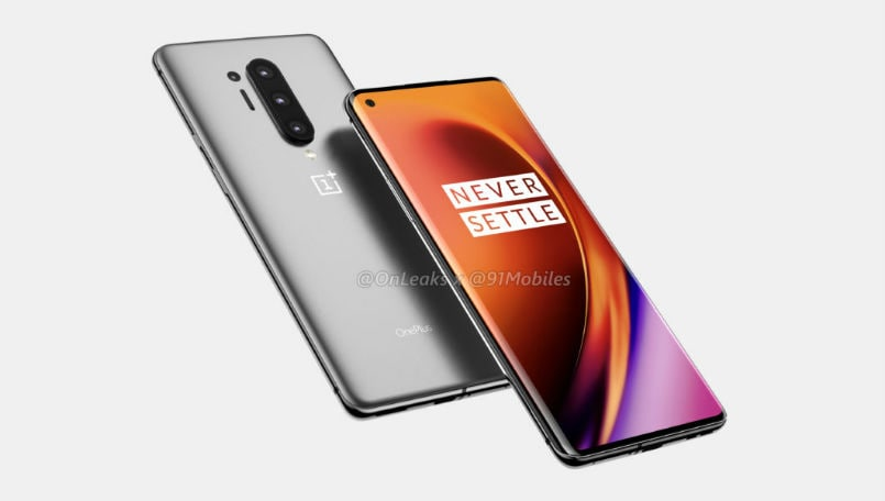OnePlus 8 leaked image reveals 120Hz toggle in settings, punch-hole display