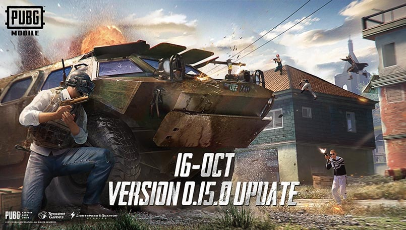 PUBG Mobile update 0.15.0 releasing October 16, adds helicopters, payload mode