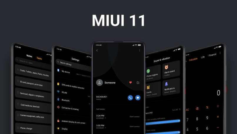 Xiaomi MIUI 11 update roadmap revealed; rollout starts from October 22