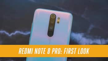 Xiaomi Redmi Note 8 Pro First Look