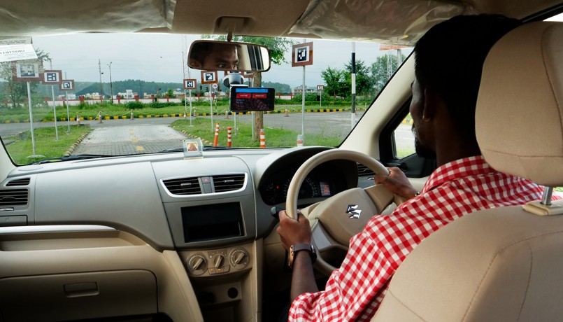 Microsoft Research project automates driver license tests in India