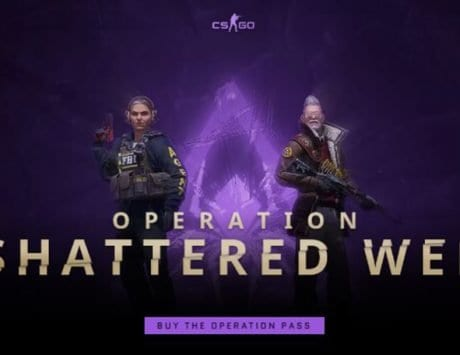 Massive CS:GO update adds Operation Shattered Web, SG 553 nerf