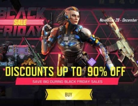 Call of Duty Mobile Black Friday deals revealed; discount details