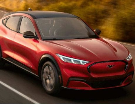 Ford Mustang Mach-E electric SUV unveiled