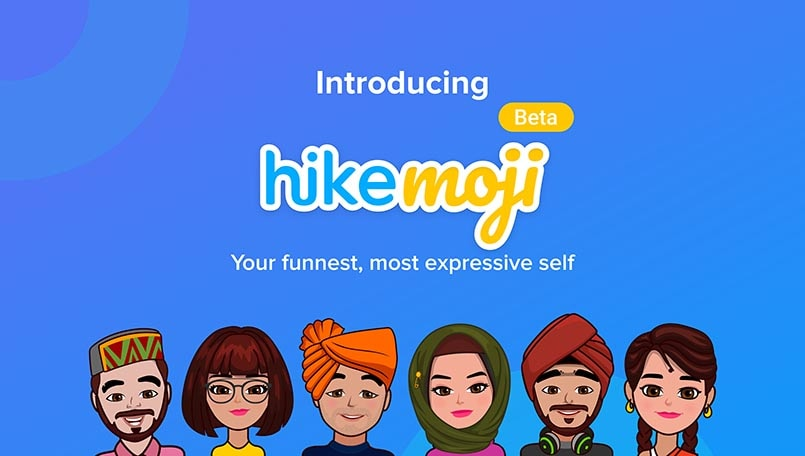 Hike launches personalized avatars with HikeMoji