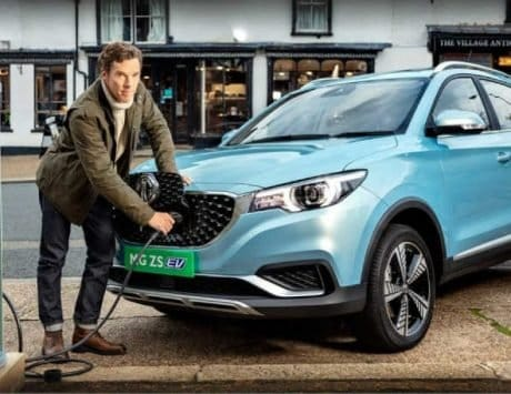 MG ZS EV pre-booking starts at select dealers ahead of launch