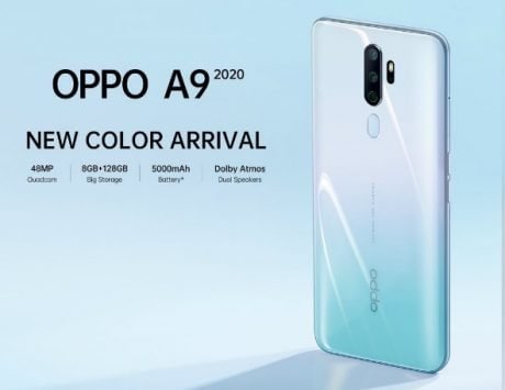 Oppo A9 2020 White-Teal color option unveiled in India: Price, features
