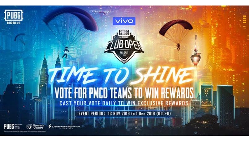 PUBG Mobile offering free rare skins in the 'Time To Shine' Event