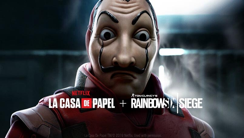Netflix's Money Heist collaborates with Rainbow 6 Siege to bring new event