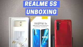 Realme 5S Unboxing