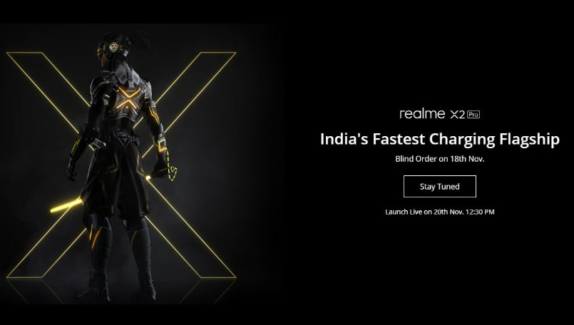 Realme X2 Pro 'blind order' sale announced for November 18: Here are the details