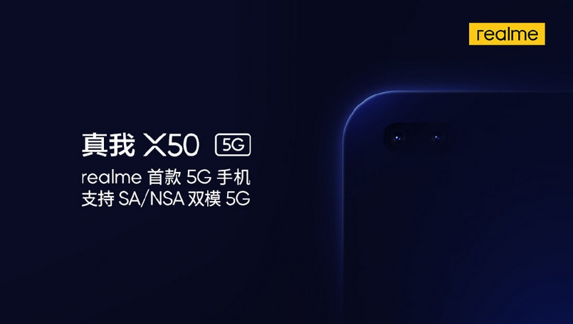 Realme X50 5G will be powered by a Snapdragon 765G SoC