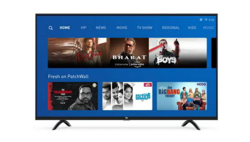 Xiaomi Mi TV 4X with 43-inch panel on sale today: Price, features and more