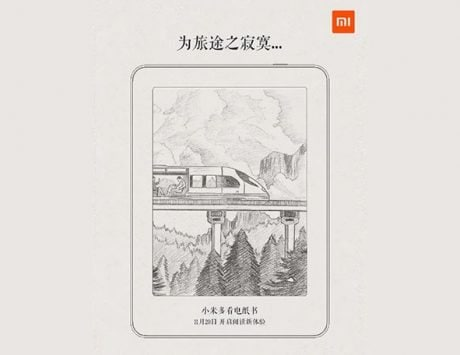 Xiaomi e-book reader to launch on November 20; details