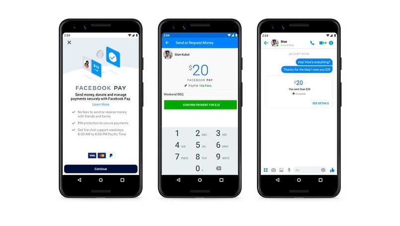 Facebook Pay new payments system to work across WhatsApp, Instagram and Messenger
