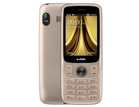 Lava A5 feature phone launched in India