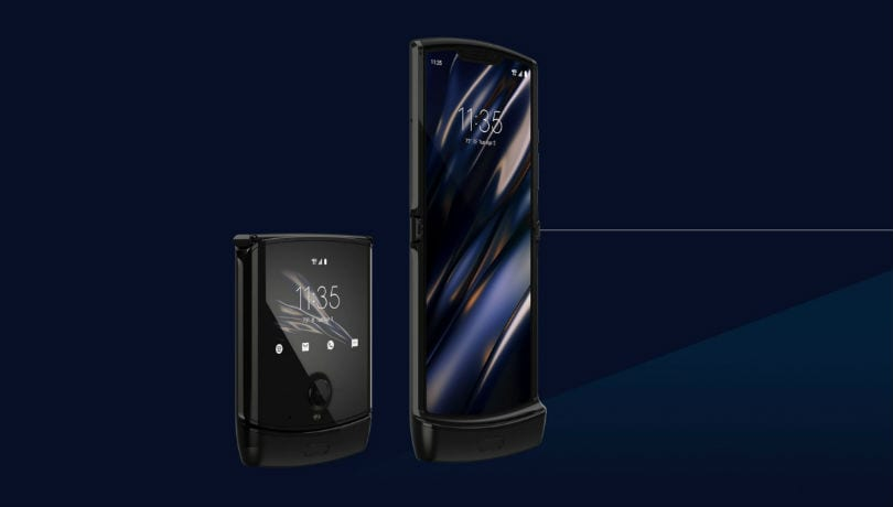 Moto Razr with folding display, flip form factor and Android OS launched
