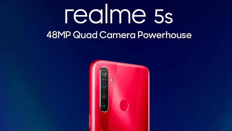 Realme 5s full specifications leaked; 48MP quad-camera setup and more