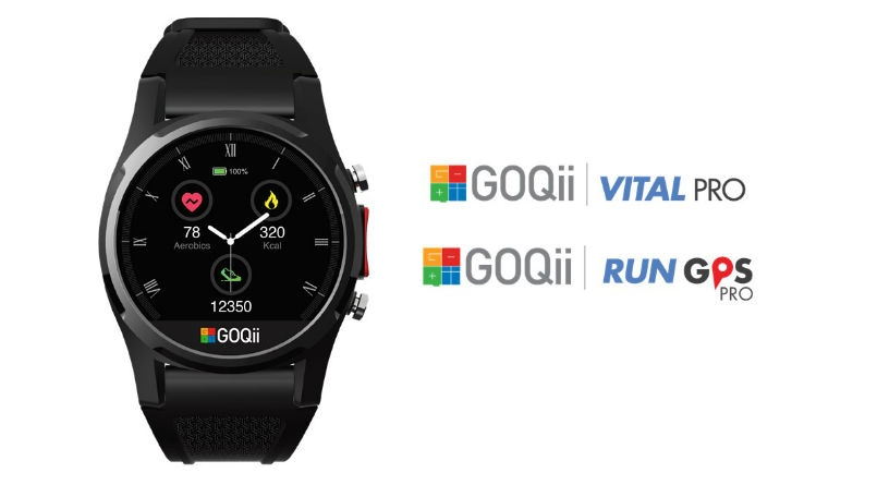 GOQii VitalPro, RunGPS Pro smartwatches launched alongside Smart Stride, Smart Scale: Price, Features, Availability