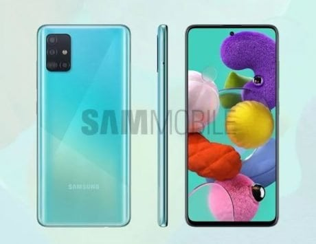 Samsung Galaxy A51 renders leak before launch; details