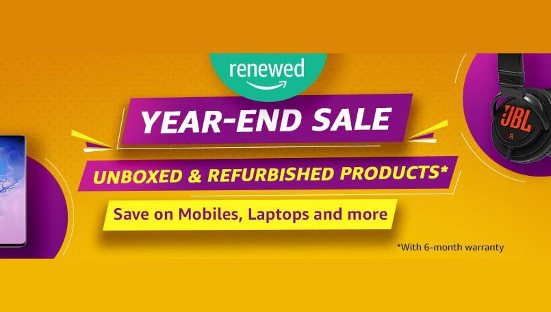 Amazon Year-End Sale announced: Discounts, offers on unboxed and refurbished products