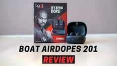 BoAt Airdopes 201 Review