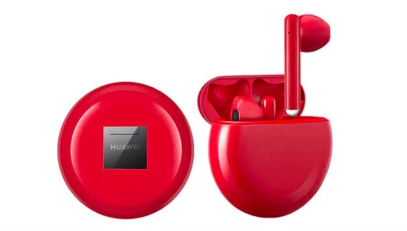 Huawei FreeBuds 3 gets a new Red color option in China