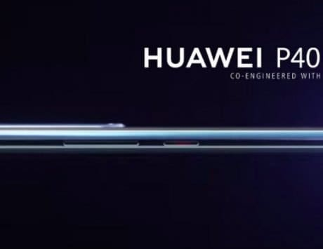 Huawei P40 alleged render leaked