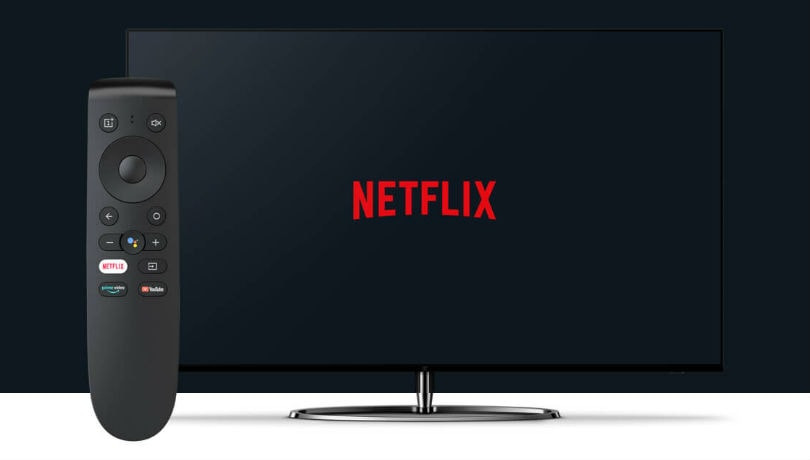 OnePlus TV gets Netflix app support with the latest update; alongside a new free Netflix remote