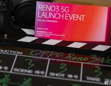 Oppo Reno 3 5G launch on December 2