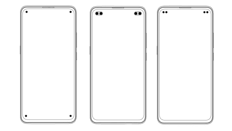 Vivo patents new full-screen display designs with 4 punch-hole cameras