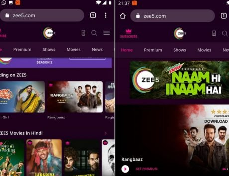 ZEE5 launches a new Progressive Web app